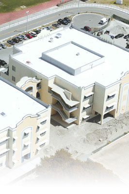 Fort Lauderdale High School under construction